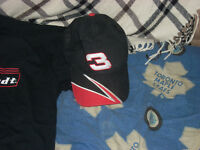 Dale Sr. Tshirt and Ball cap D.J. cap and keychain and lighter