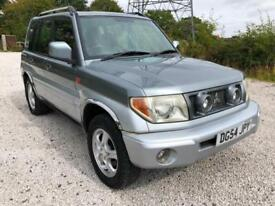 54 MITSUBISHI SHOGUN PININ 2.0 GDI EQUIPPE FULL HISTORY ALL RECEIPTS 73K PX SWAP
