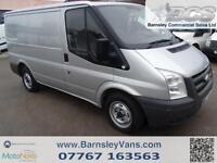 2007 07 FORD TRANSIT T260 SWB LOW ROOF IN SILVER FINANCE AVAILABLE