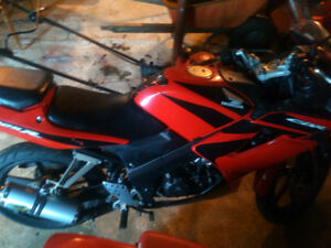 Honda CBR 125 R - With Upgrades