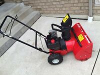 Snowblower 22 inch 5 horse power