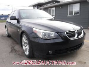 2007 BMW 5 SERIES 550I 4D SEDAN 550I