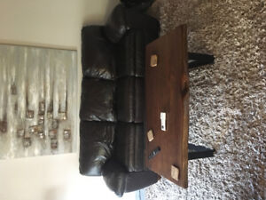 Theee piece leather set - great condition