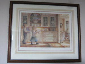 "Framed Limited Edition Print - Trisha Romance - ""The Birthday"""