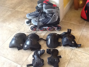 Roller Blades and all Protective Pads- SOLD PPU