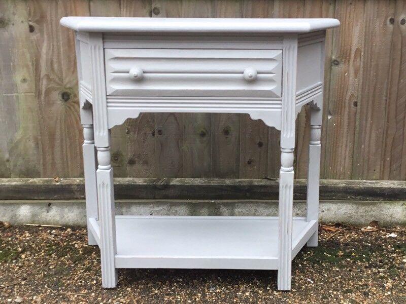 Ipswich oak side table