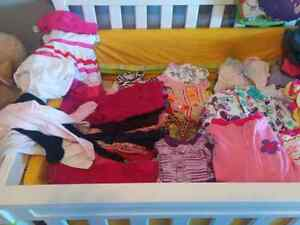 Big 0-6 months baby girl clothes lot