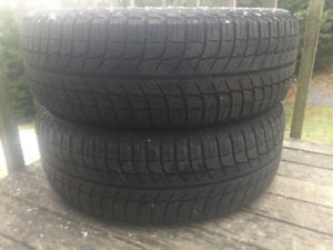 Two 195/65R15 Winter Tires