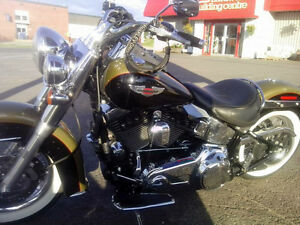 HARLEY DAVIDSON SOFTAIL DELUXE  MOVING MAY 19. NEED TO SELL.