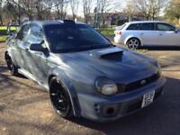 2001 51 SUBARU IMPREZA WRX WIDEBODY CONVERSION STUNNER REMAPPED 300 BHP PX-SWAPS