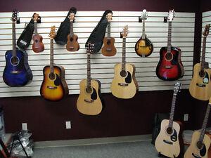 Beginner Guitars, Ukuleles & Mandolins