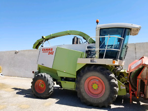 Claas forage harvestor
