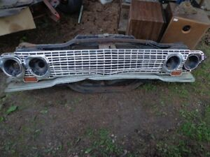 1963 chevy impala- biscayne parts
