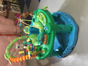 Exersaucer- 3in1- Fun in the Amazon