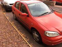 2004(53) vauxhall Astra 1.6 twinport.