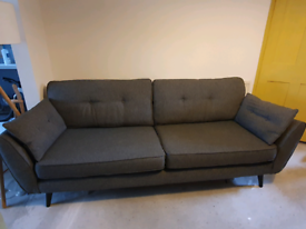 DFS French Connection Zinc 4 seater sofa