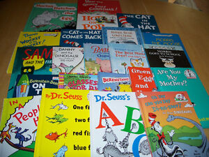 22 READ ALOUD Dr. Seuss and I CAN READ Books - Good Authors