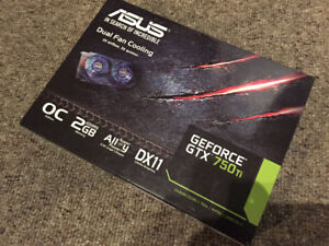 ASUS GTX 750TI 2GB GDDR5, great condition.