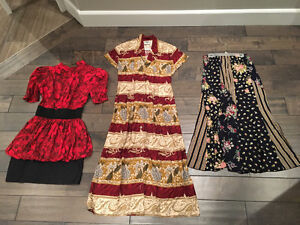 Womens skirts and dresses