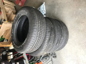 """Used 18"""" TruckTires"""