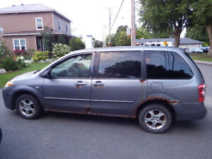 Fourgonnette Minivan Mazda MPV 2005 - 186000km