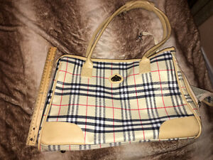 Burberry Print Dog Carrier/Bag