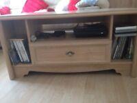 Limed Oak Tv Corner Unit