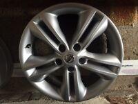 "Nissan qashqai 17"" alloy wheel - 3 available"