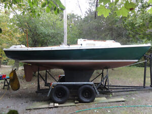 O`Day 23 Tempest MH (masthead) restored, trailer, motor -reduced