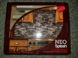 Backsplash Neo mocha marble