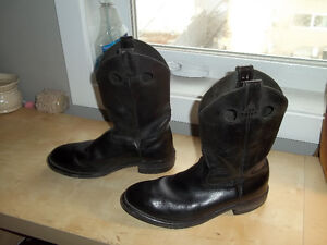 Steel toe and shank Cowboy Style Workboots $70 or best offer
