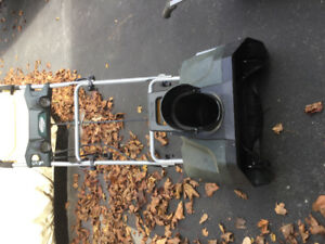electric snowblower