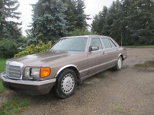1989 Mercedes Benz 420 SEL