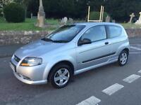 2008 08 CHEVROLET KALOS 1.2 S 3 DOOR HATCH 5 SPEED MANUAL Not Clio Fiesta C3