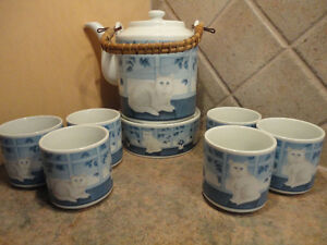 German 9 Piece Tea Set