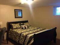 Very Clean, Large, Furnished & All Incl BEDROOM/JUNE 1