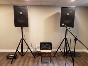 Carvin speakers and  mixer for sale