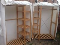 2 Wardrobes for £20