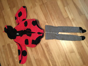 Costume chaud coccinelle 24 mois - halloween