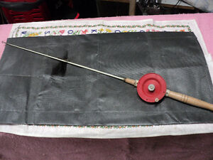 Antique Schooley Ice Fishing Rod - Greenville Michigan - $35 obo