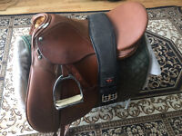 18-inch dressage saddle for sale