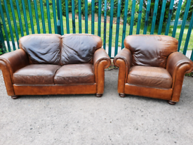 2 seater sofa and armchair (delivery available