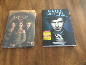 DVD Reign ($5.00). Bates Motel was sold