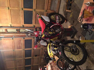 Looking to trade my rm 250 for a supermoto