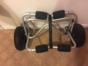 WHEELEEZ kayak tow cart