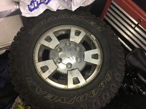 235/75/15 Tires/rims  Colorado/ Canyon All-terrain BFG