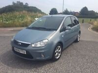 """FORD CMAX ZETEC 1,5 TD 109 """"""""125k"""""""" 09 PLATE TINTED GLASS/ALLOYS"""