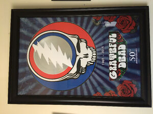 Grateful Dead 50th Anniversary with platinum record