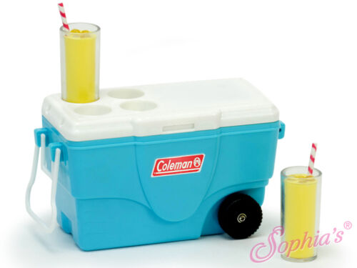 "Coleman® Cooler w/Lemonade for 18"" American Girl Doll"