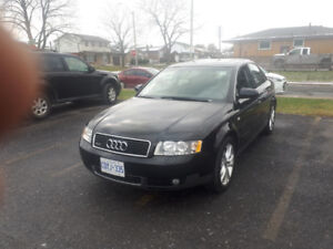 AUDI A4 AWD 6 Speed 118000miles
